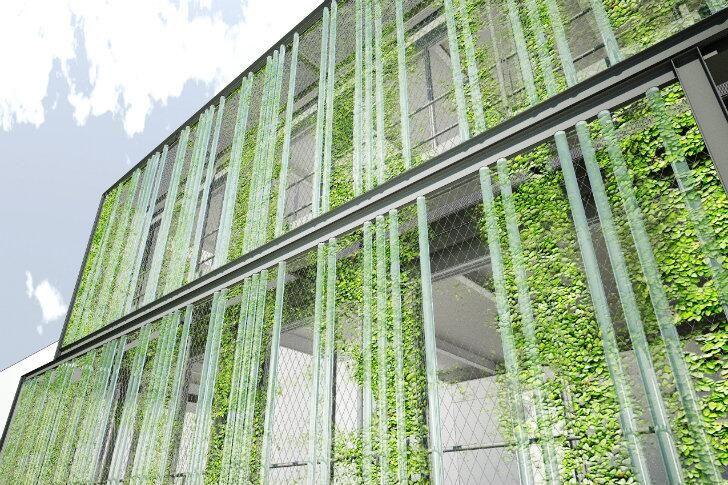 930 mejores im genes sobre jardines verticales en for Edificios con jardines verticales