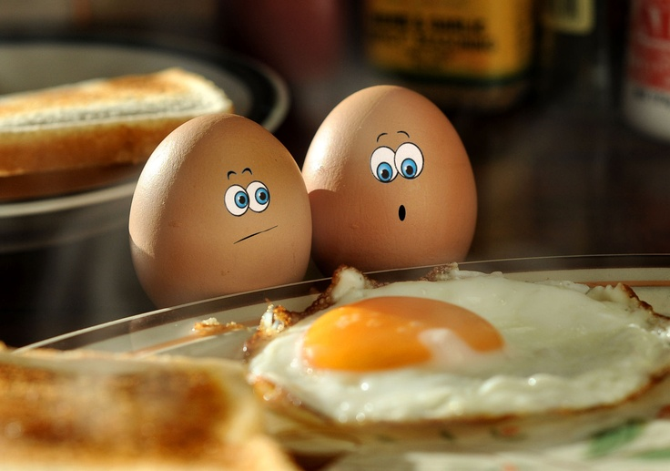 Cracked Eggs – I Think That Might be Larry! – Steve Chilton