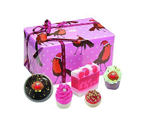Bomb Cosmetics Rockin Robin Gift Pack: Tweet . Get into the festive spirit with this glittery gift pack of joy! Contains one of each of the…