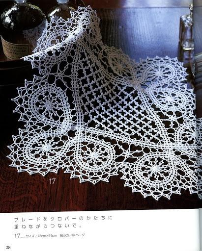 Bruges Crochet Lace - to mimic Bobbin Lace