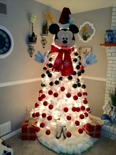 1000 ideas about mickey mouse christmas tree on pinterest for Adornos navidenos mickey mouse