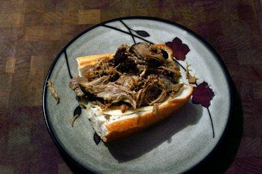 ... Pork sandwich and great everything else too | Pork Sandwich, Foodies
