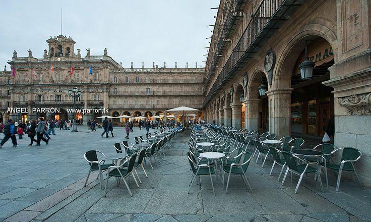 Plaza Mayor . Salamanca .Spain