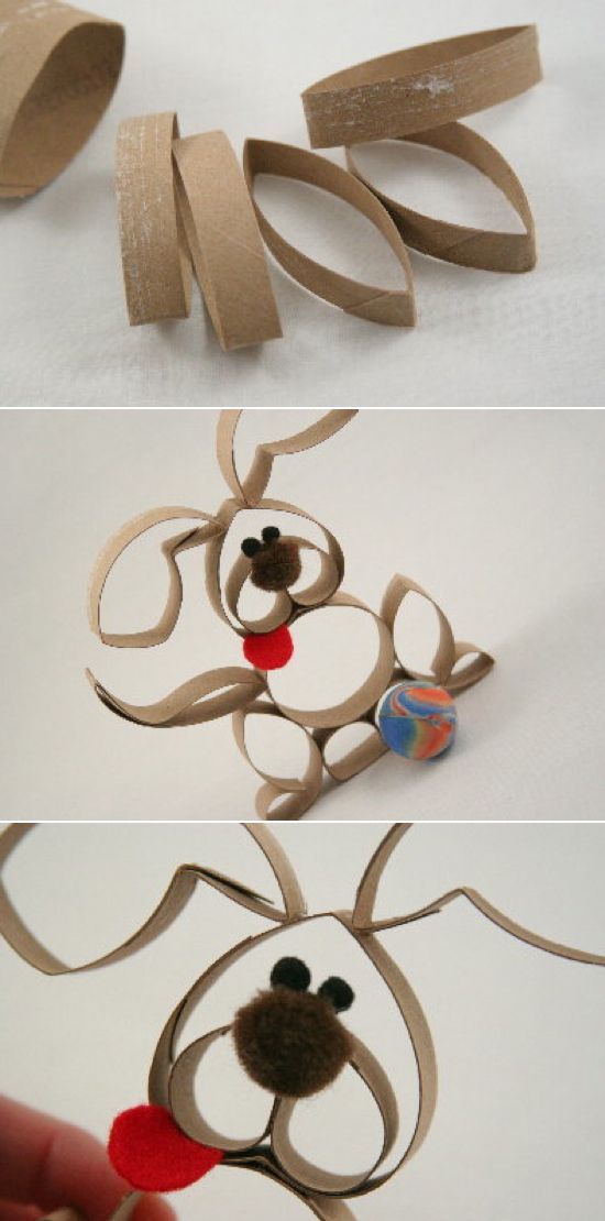 Lots of cool toilet paper roll craft ideas