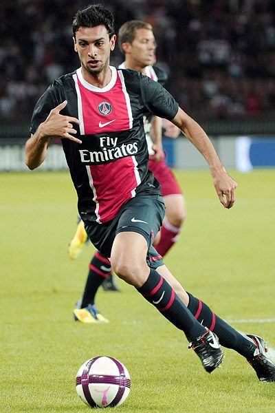 Javier Pastore, one of the best midfielders in the world