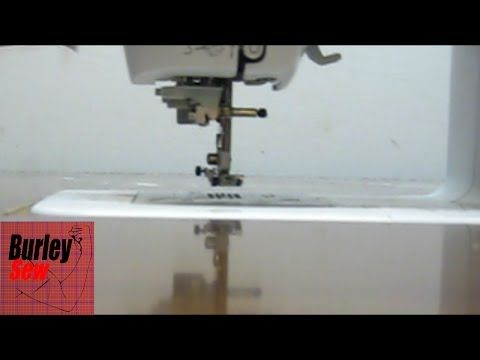 Sew AdjusTable Sewing Extension Table Fits any Brand Make or Model of Portable Sewing Machine - YouTube