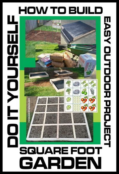 DO IT YOURSELF – SQUARE FOOT GARDENING