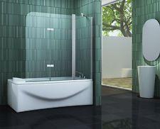 TILTO 150 x 140 Badewannen Faltwand Duschwand Duschabtrennung Dusche Duschwand