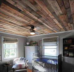 Pallet Ceiling Ideas for your Home | Pallets Furniture Designs