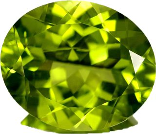 """August Birthstone, #Peridot comes from the Arabic word """"faridat"""" which means """"gem""""."""