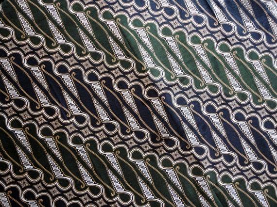 Traditional batik design / Java