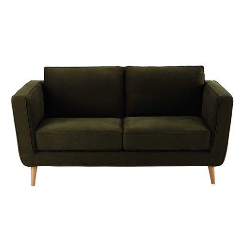 canap 2 3 places en tissu kendo kaki id es st john 39 s pinterest kendo. Black Bedroom Furniture Sets. Home Design Ideas