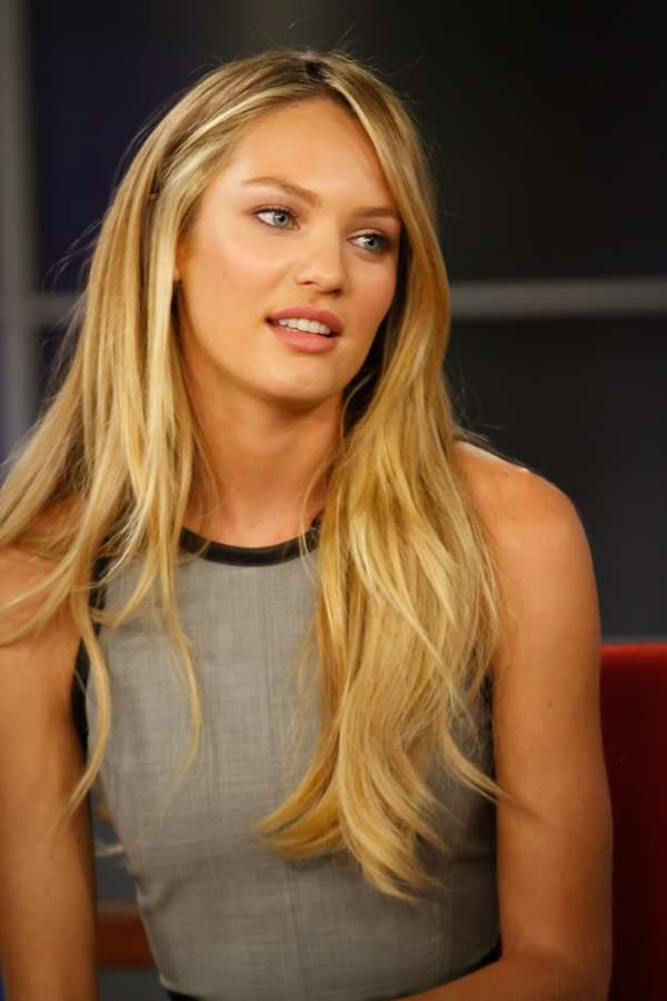 Candice Swanepoel...love the hair