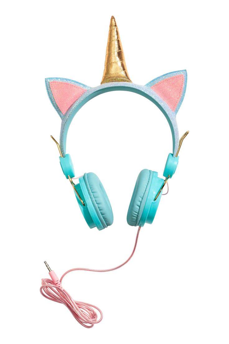 Casque audio - Turquoise/licorne - ENFANT | H&M FR