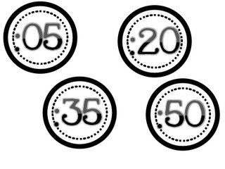 Printable numbers to go around the classroom clock for telling time. Print on colored paper to match the classroom theme.