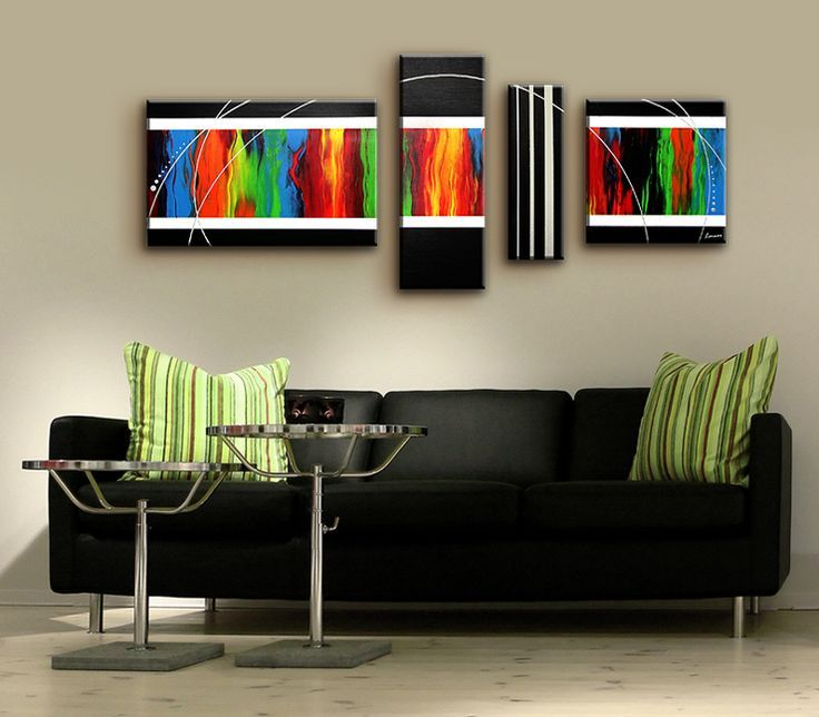 17 best images about canvas schilderij on pinterest kunst canvases and tes - Moderne kamer volwassen schilderij ...