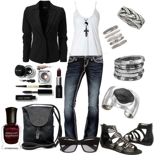 Black and White by missyfer88 on Polyvore