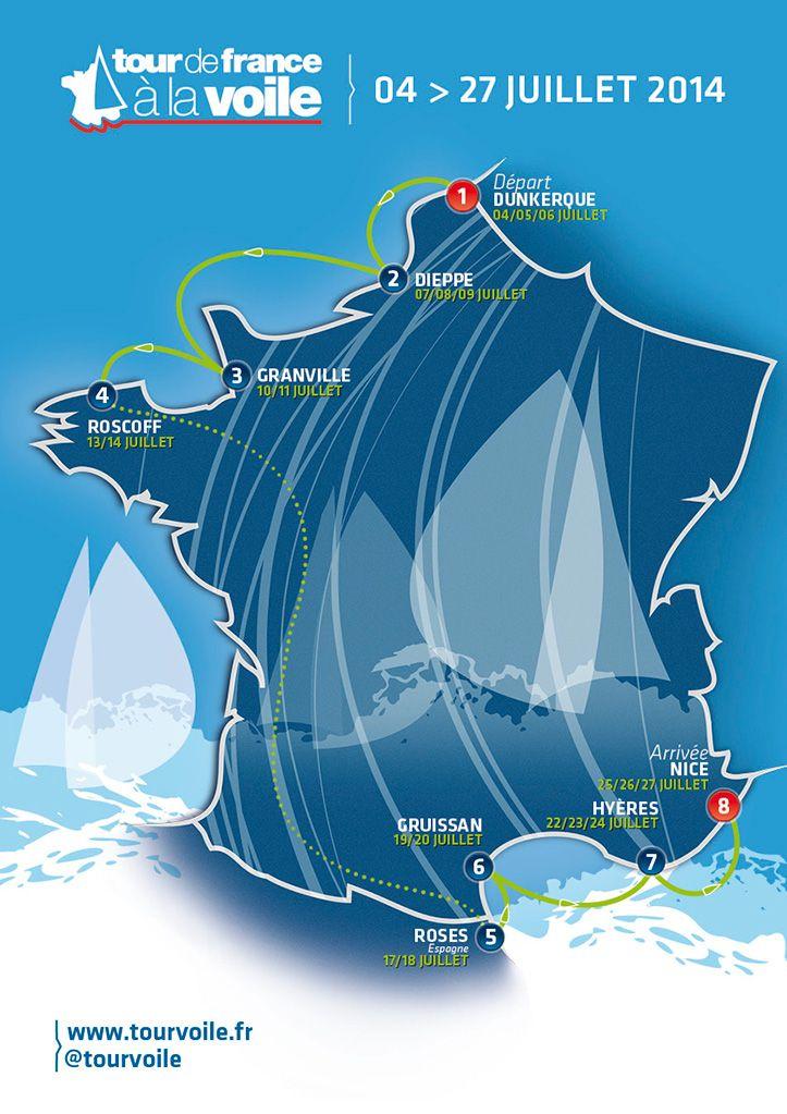 Tour de France à la Voile 2014