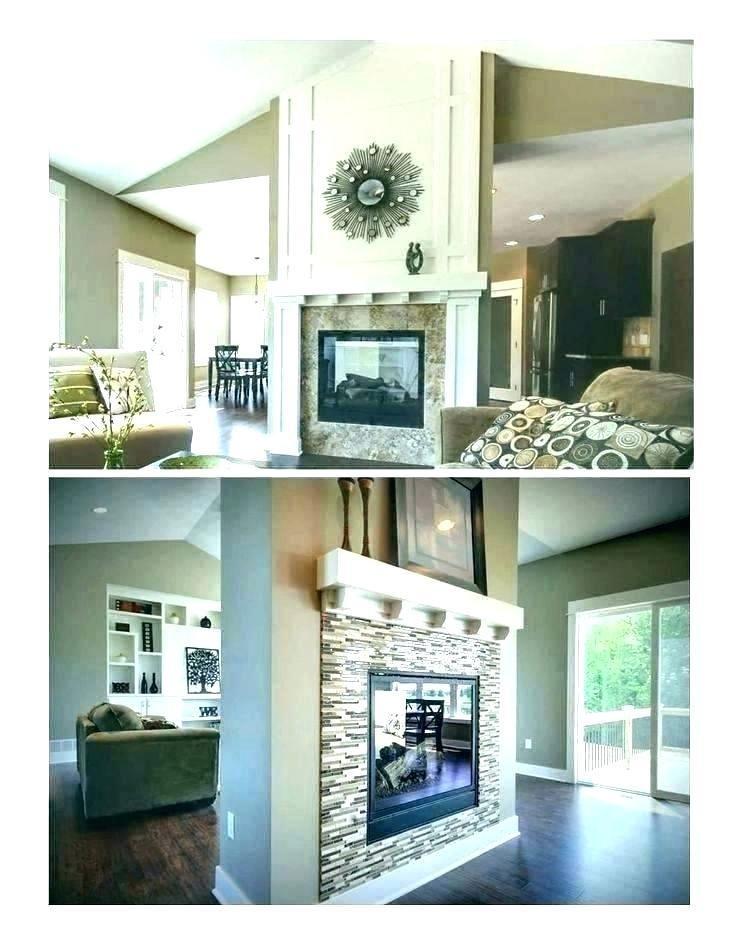 61 2 Way Fireplace Fireplace Design Corner Fireplace Decor