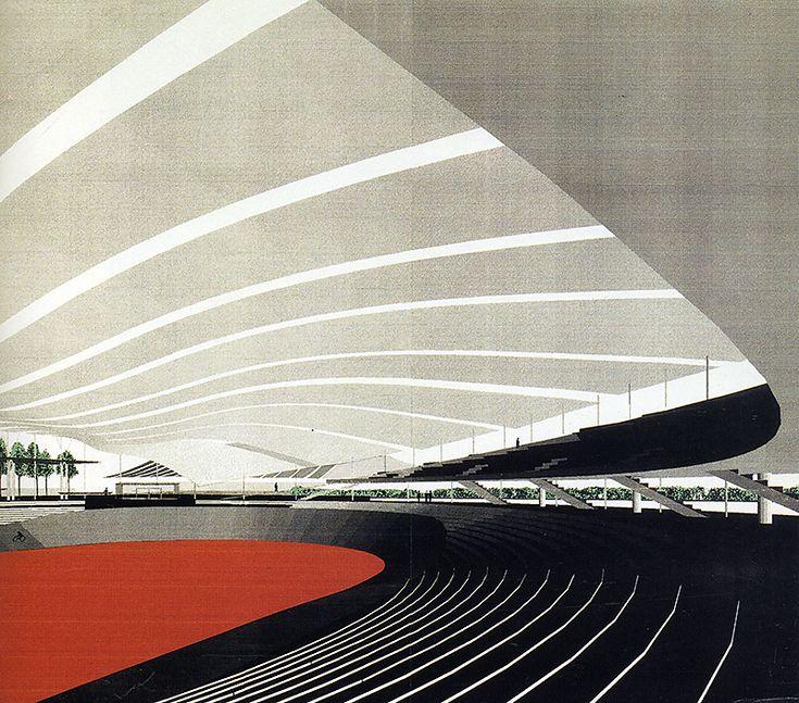 #architecture #design #render Fumihiko Maki