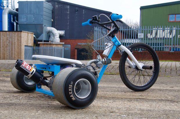 Resultado de imagem para motorized drift trike