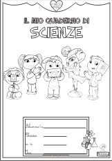 copertina di scienze - i cinque sensi