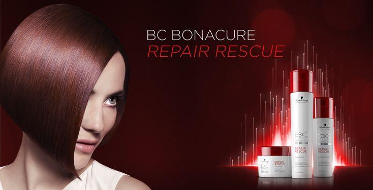 BC Repair Rescue produits pour cheveux abîmés et fragilisés hair care for damaged hair