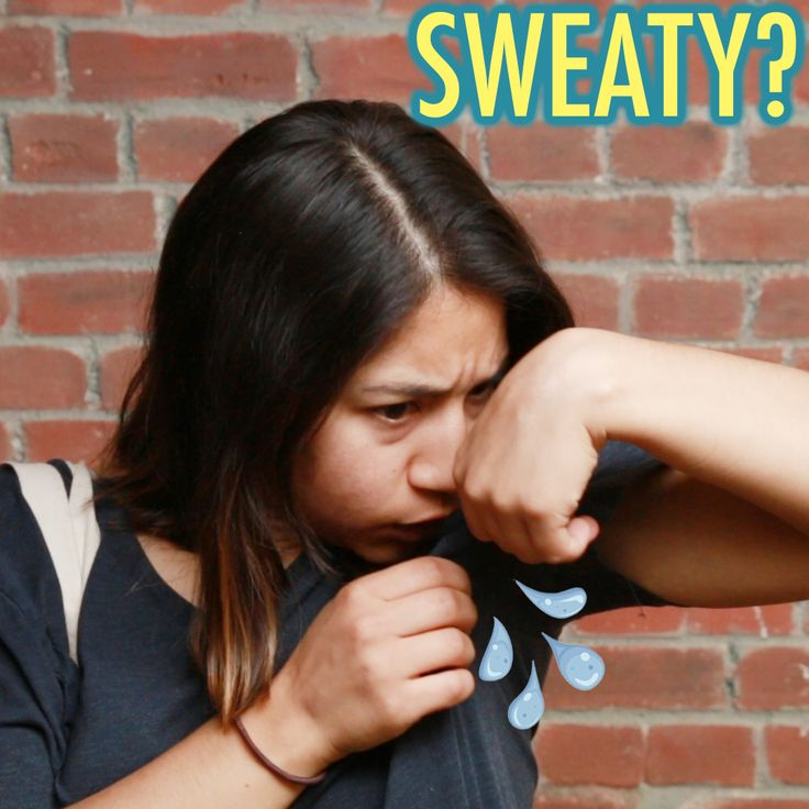 Easy Hacks for Sweaty Clothes