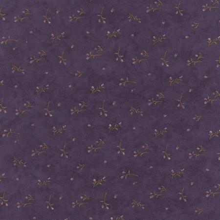 The Potting Shed Violet 6625 16 Moda Fabrics and Holly Taylor