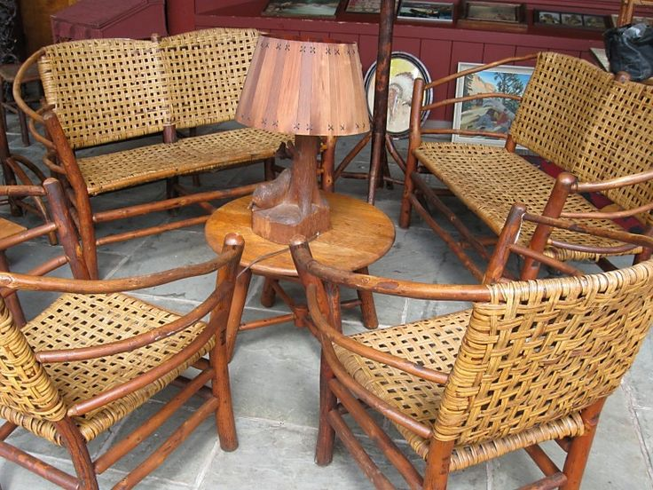 old hickory furniture set - Old Hickory Furniture