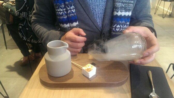 Campfire Hot Chocolate @ Mork