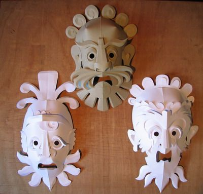 Tontine Masks   The World Through Wooden Eyes