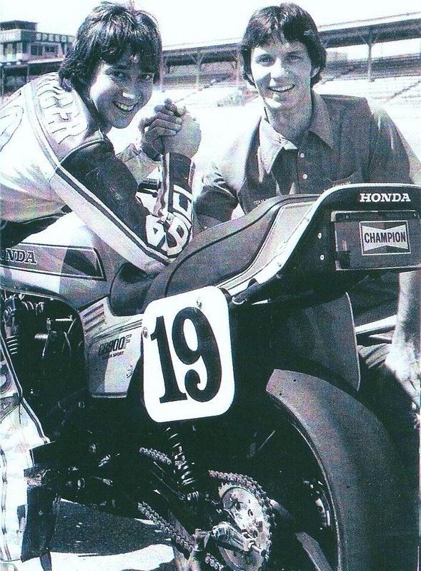 Freddie Spencer & Eddie Lawson