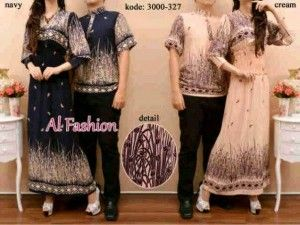 cp 41 300x225 Baju gamis modern couple batik cp41 yola