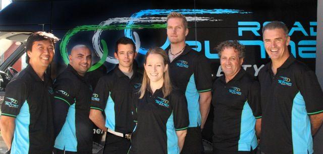 The Melbourne tyre technicians.