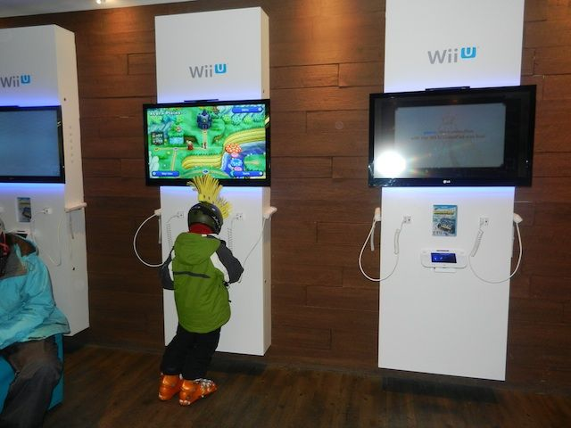 Nintendo play area at Rendezvous Lodge, Whistler Blackcomb