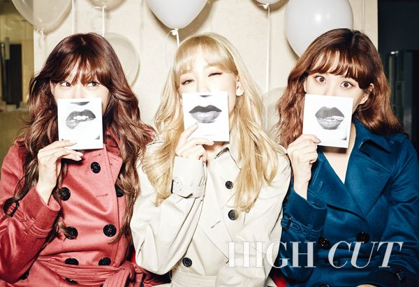 Girls' Generation-TaeTiSeo High Cut Vol. 164 | Taeyeon, Tiffany, Seohyun, TTS, snsd