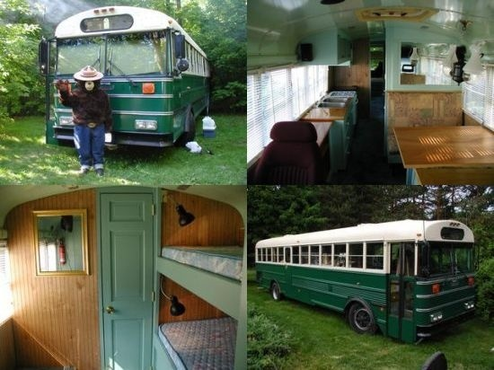 95 Best School Bus Home Images On Pinterest Campers
