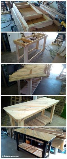how to build your own pallet kitchen island so here pallet is unique solution
