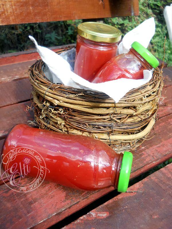 Споделено от кухнята на Elti: Домашен кетчуп