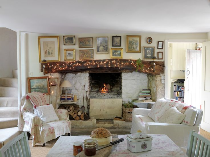 Decorating secrets from the 16th century cottage home of Christina Strutt, the queen of vintage chic and founder of Cabbages & Roses