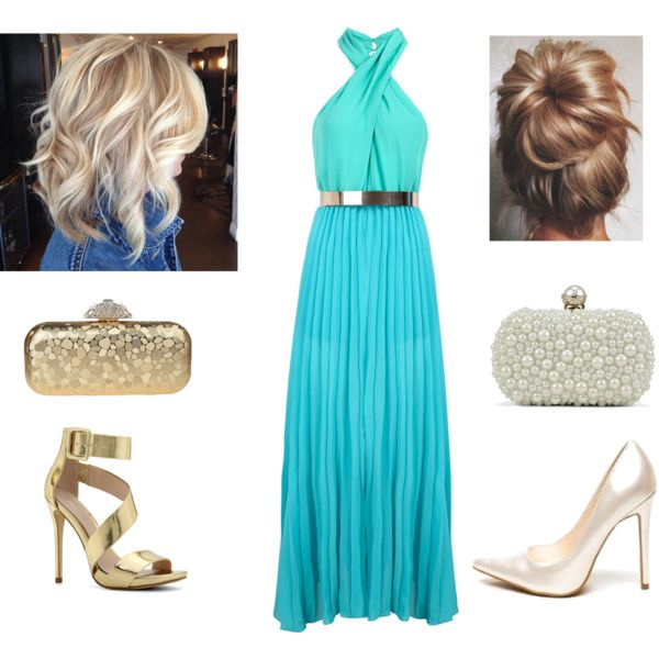 Wedding guest outfit- blue or gold???