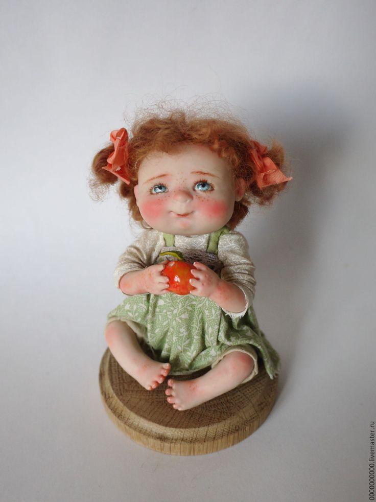 Купить Лёлька - авторская ручная работа, авторская игрушка, авторская кукла, интерьерная кукла