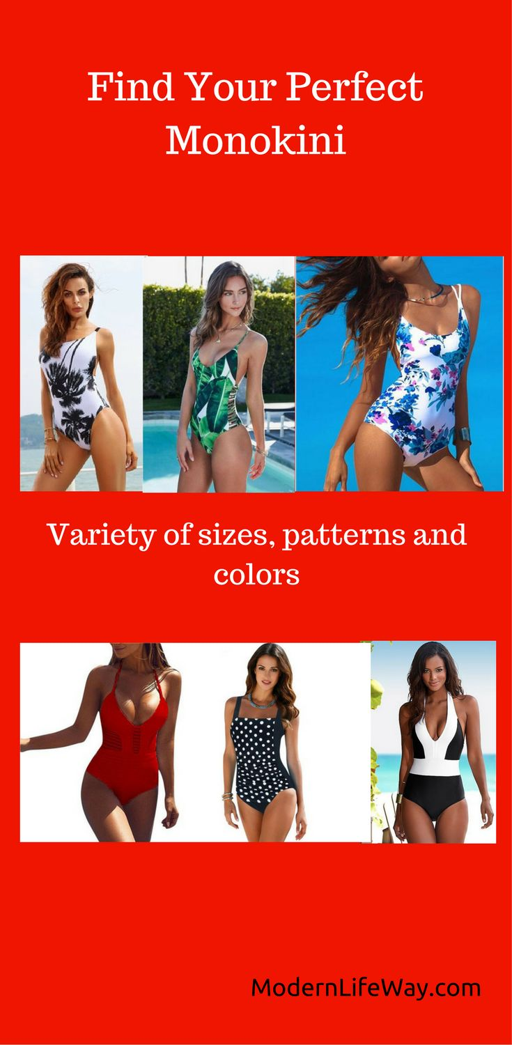 The latest trends in monokini - sexy one piece women's swimsuits. Wide selection at great prices. Check it out!
