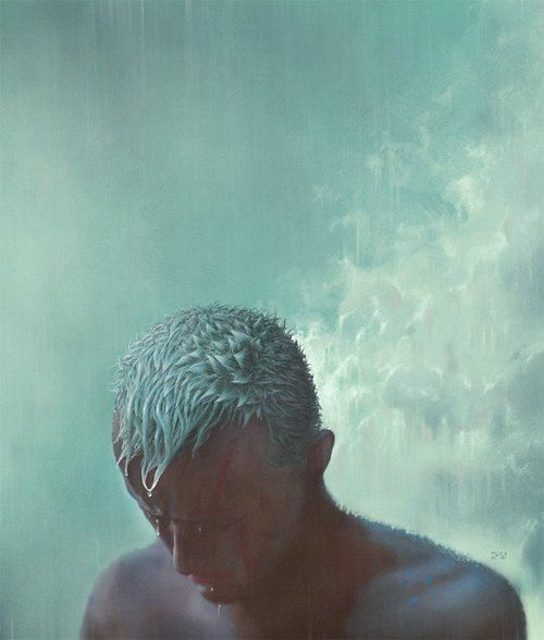 """I've seen things you people wouldn't believe. Attack ships on fire off the shoulder of Orion. I watched C-beams glitter in the dark near the Tannhauser gate. All those moments will be lost in time... like tears in rain... Time to die."" Roy. Blade Runner. 1982."