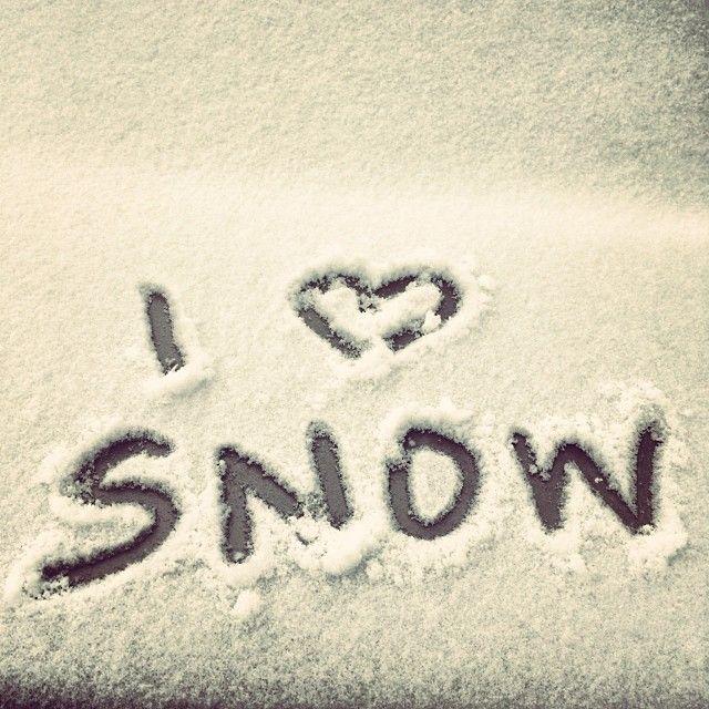 I love Snow.