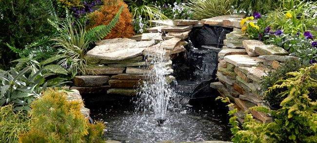 we NEED a water feature in our backyard... Lowe's weekend step-by-step guide....