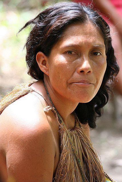 Amazonian Yahua Yagua Tribe  People From Around The -5637