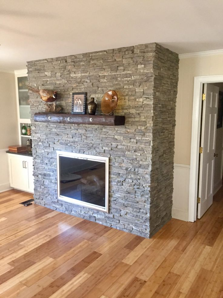 Covering a brick fireplace easy doityourself project