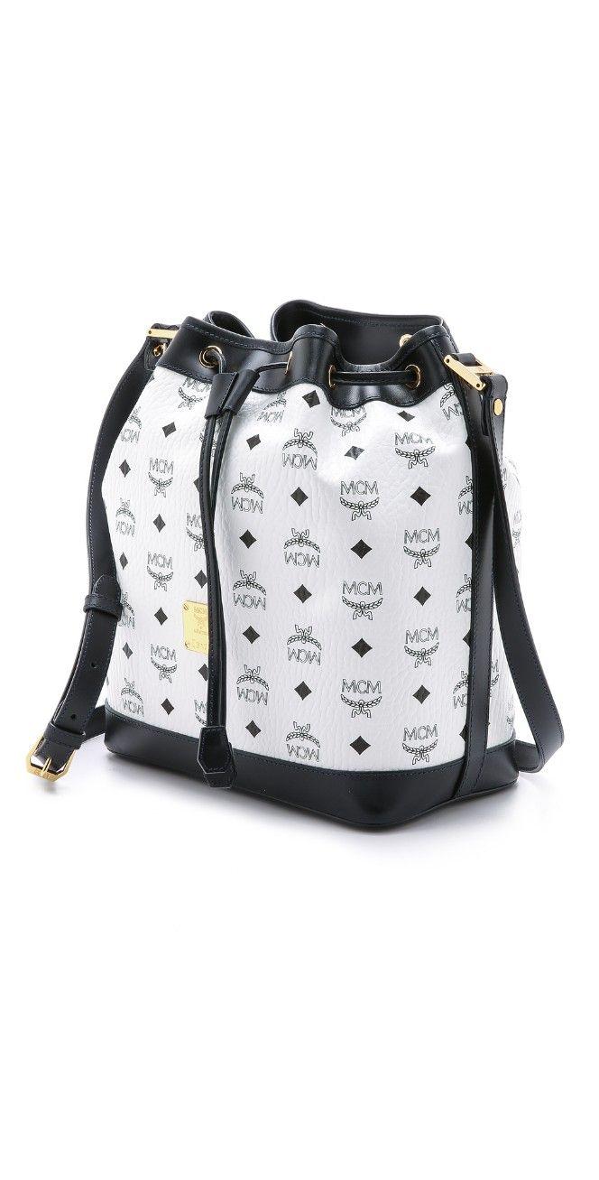 MCM Small Drawstring Bag | SHOPBOP